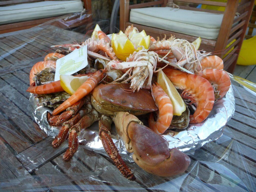 plateau de fruits de mer à barfleur